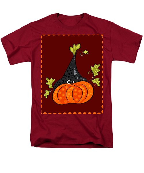 Men's T-Shirt  (Regular Fit) featuring the painting Funny Halloween by Veronica Minozzi