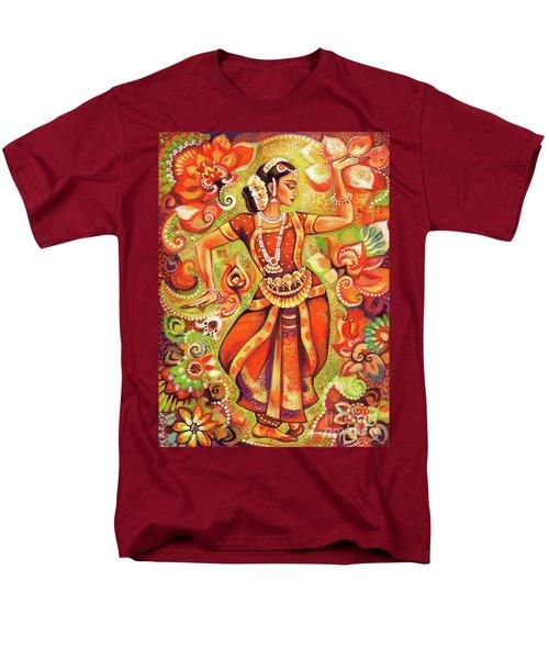 Ganges Flower Men's T-Shirt  (Regular Fit) by Eva Campbell