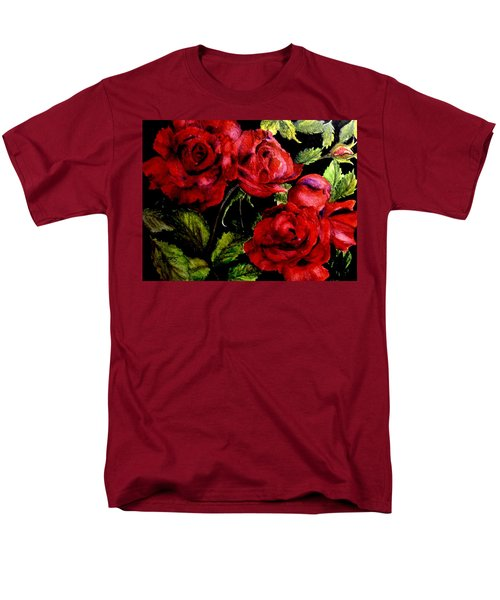 Garden Roses Men's T-Shirt  (Regular Fit) by Carol Grimes