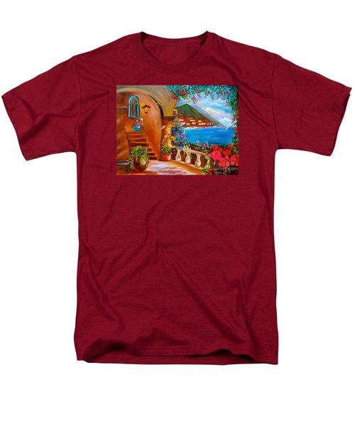 Garden Veranda 1 Men's T-Shirt  (Regular Fit) by Jenny Lee
