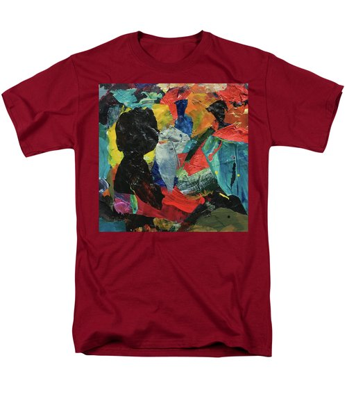 Men's T-Shirt  (Regular Fit) featuring the painting Generations by Mary Sullivan