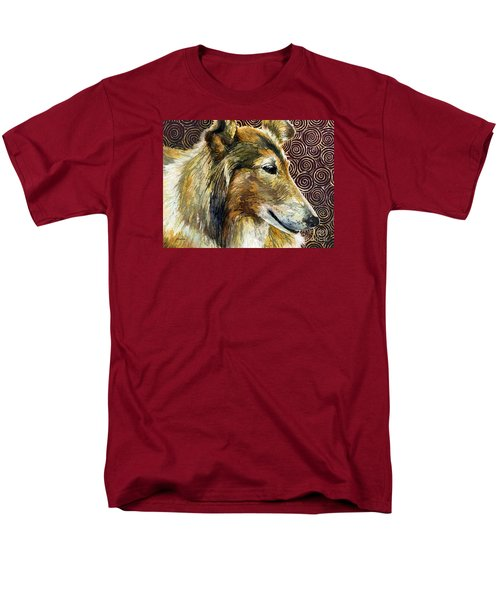 Gentle Spirit - Reveille Viii Men's T-Shirt  (Regular Fit) by Hailey E Herrera