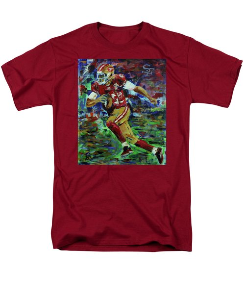 Gold Blooded 49ers Men's T-Shirt  (Regular Fit) by Walter Fahmy