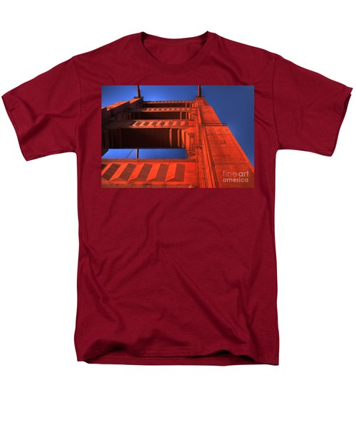 Golden Gate Tower Men's T-Shirt  (Regular Fit) by Jim And Emily Bush