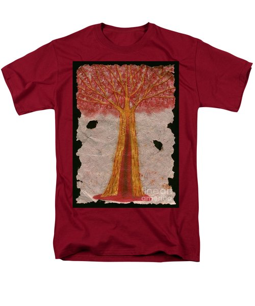 Golden Trees Crying Tears Of Blood Men's T-Shirt  (Regular Fit) by Talisa Hartley