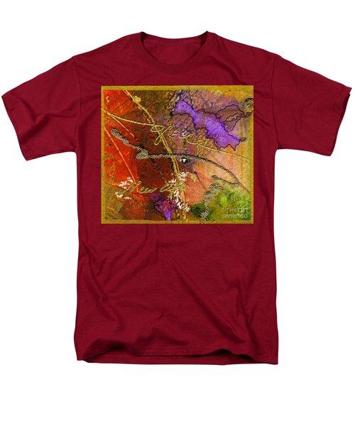 Men's T-Shirt  (Regular Fit) featuring the mixed media Grace by Angela L Walker