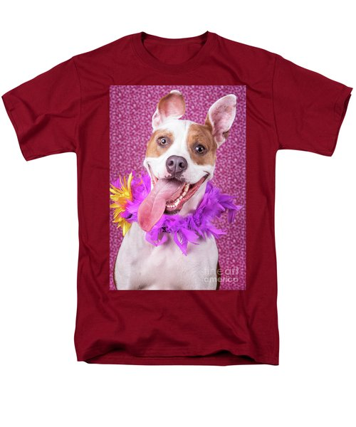 Hapy Dog Men's T-Shirt  (Regular Fit) by Stephanie Hayes