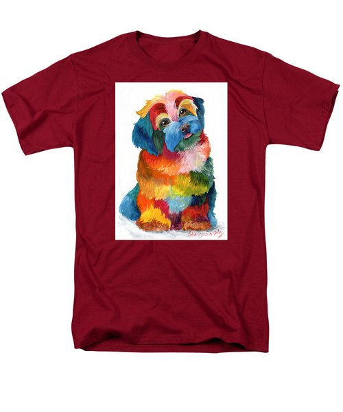 Hava Puppy Havanese Men's T-Shirt  (Regular Fit) by Sherry Shipley