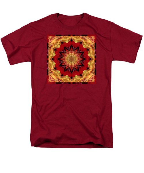 Men's T-Shirt  (Regular Fit) featuring the photograph Healing Mandala 28 by Bell And Todd