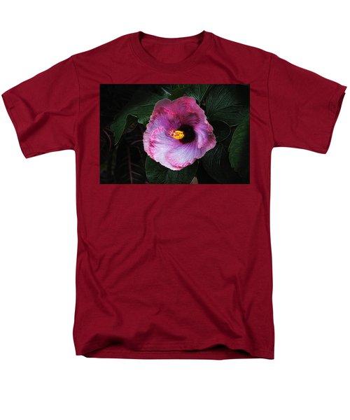 Men's T-Shirt  (Regular Fit) featuring the photograph Hibiscus Flower by Tom Mc Nemar