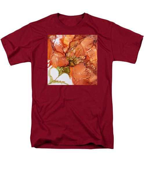 Men's T-Shirt  (Regular Fit) featuring the painting Hibiscus by Pat Purdy