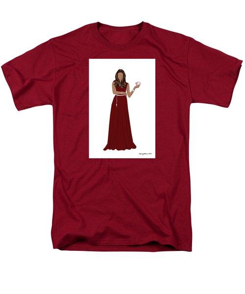 Men's T-Shirt  (Regular Fit) featuring the digital art Hoda by Nancy Levan
