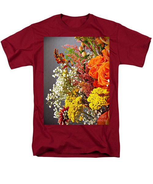 Men's T-Shirt  (Regular Fit) featuring the photograph Holy Week Flowers 2017 2 by Sarah Loft