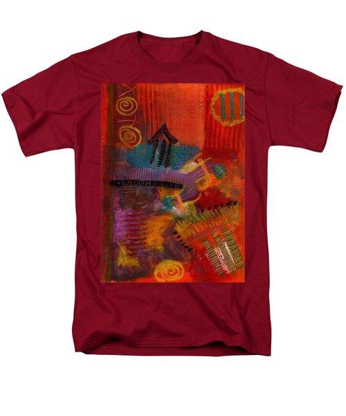 House Of Laughter Men's T-Shirt  (Regular Fit) by Angela L Walker