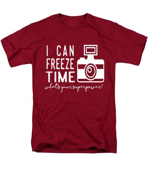 I Can Freeze Time Men's T-Shirt  (Regular Fit)