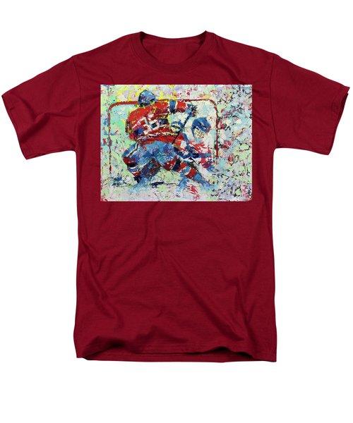 Ice Hockey No1 Men's T-Shirt  (Regular Fit) by Walter Fahmy