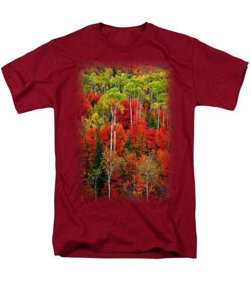 Idaho Autumn T-shirt Men's T-Shirt  (Regular Fit) by Greg Norrell