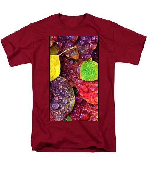 Illuminous Colour Men's T-Shirt  (Regular Fit) by Sheila Mcdonald