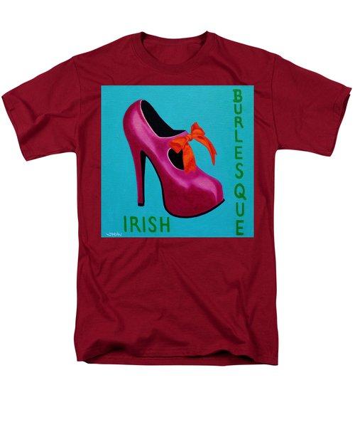 Irish Burlesque Shoe    Men's T-Shirt  (Regular Fit) by John  Nolan