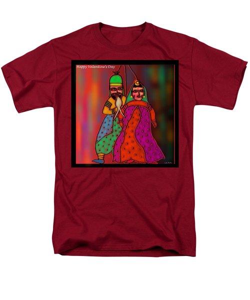 Men's T-Shirt  (Regular Fit) featuring the digital art Jugalbandi by Latha Gokuldas Panicker