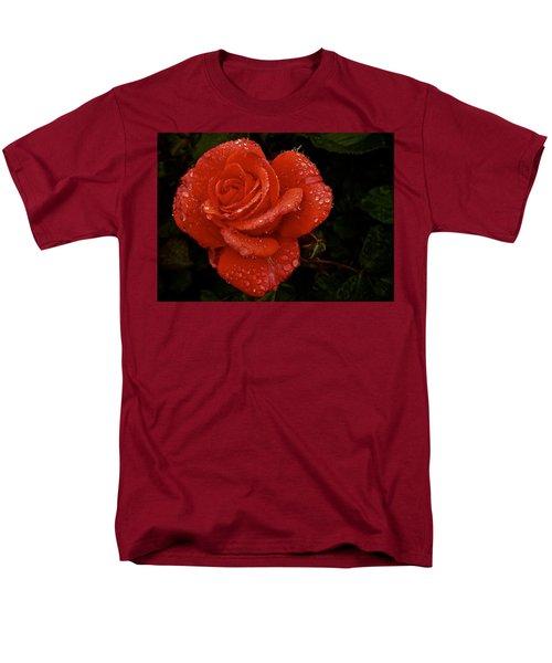 Men's T-Shirt  (Regular Fit) featuring the photograph June 2016 Rose No. 3 by Richard Cummings