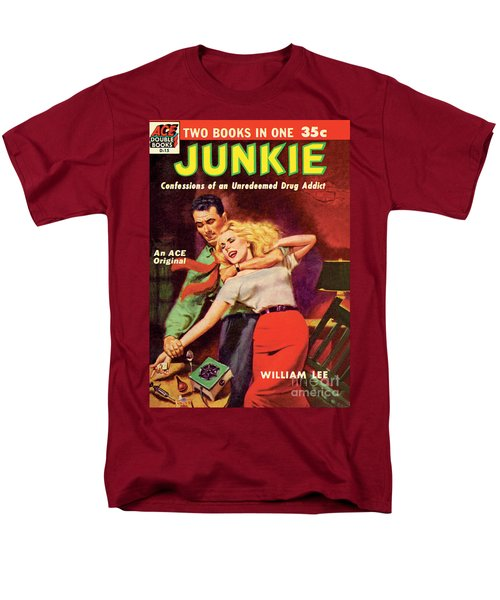 Men's T-Shirt  (Regular Fit) featuring the painting Junkie by Al Rossi