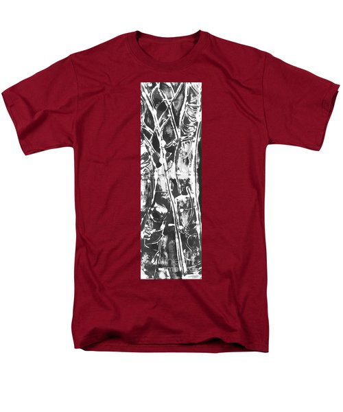 Men's T-Shirt  (Regular Fit) featuring the painting Justice by Carol Rashawnna Williams