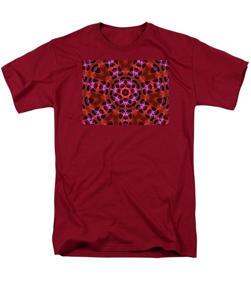 Kaleidoscope With Seven Petals Men's T-Shirt  (Regular Fit) by Ernst Dittmar