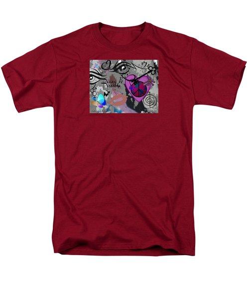 Key To Energy Of Peace  Men's T-Shirt  (Regular Fit)
