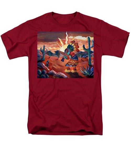 Kokopelli A Men's T-Shirt  (Regular Fit) by Megan Walsh