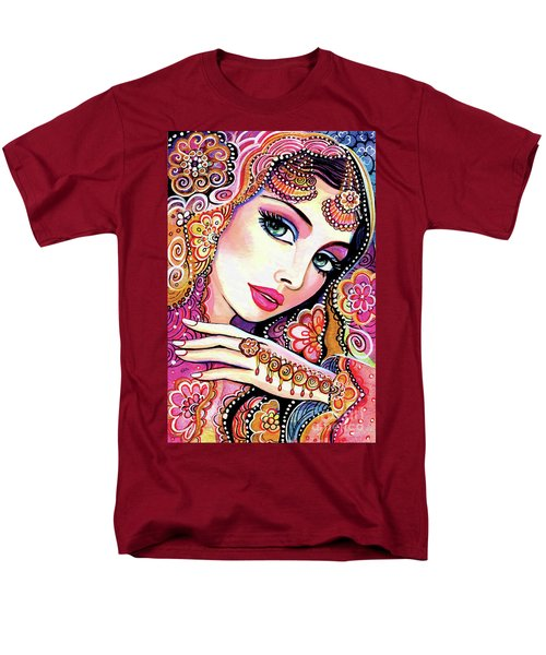 Men's T-Shirt  (Regular Fit) featuring the painting Kumari by Eva Campbell