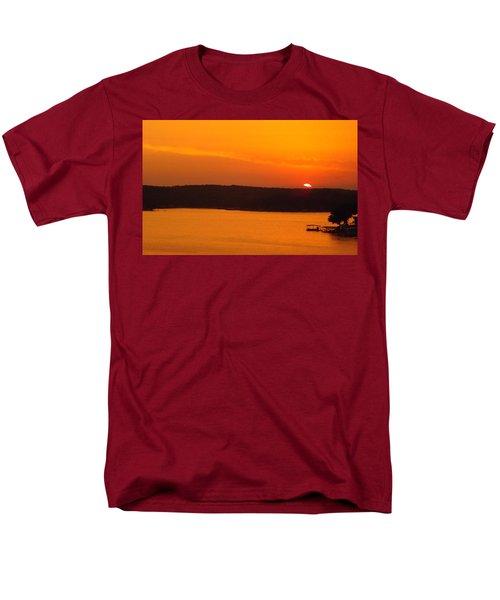 Lake Of The Ozarks 1 Men's T-Shirt  (Regular Fit) by Don Koester