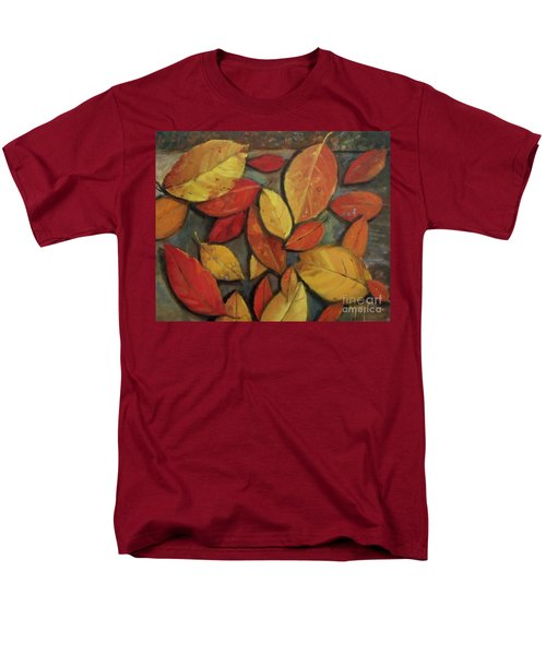 Leaf Collection Men's T-Shirt  (Regular Fit) by Mary Hubley