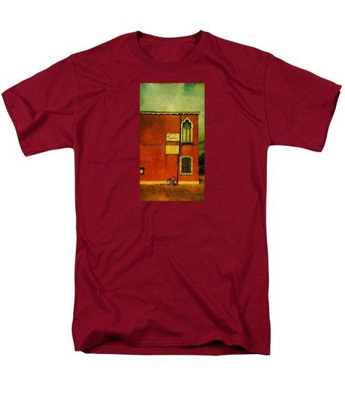 Men's T-Shirt  (Regular Fit) featuring the photograph Lido Lion by Anne Kotan