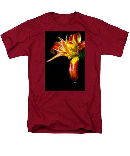 Liquid Lily Men's T-Shirt  (Regular Fit) by Cameron Wood