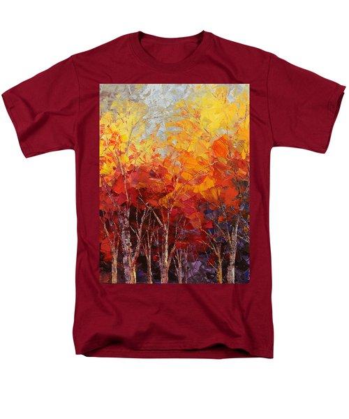 Listening To Leaves Men's T-Shirt  (Regular Fit) by Tatiana Iliina