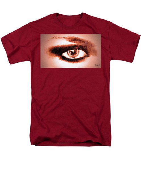 Look Into My Eye Men's T-Shirt  (Regular Fit) by Paula Ayers