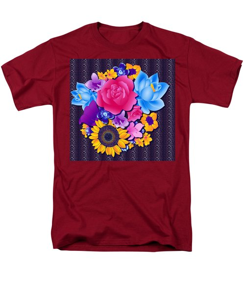 Lovely Bouquet Men's T-Shirt  (Regular Fit) by Samantha Thome