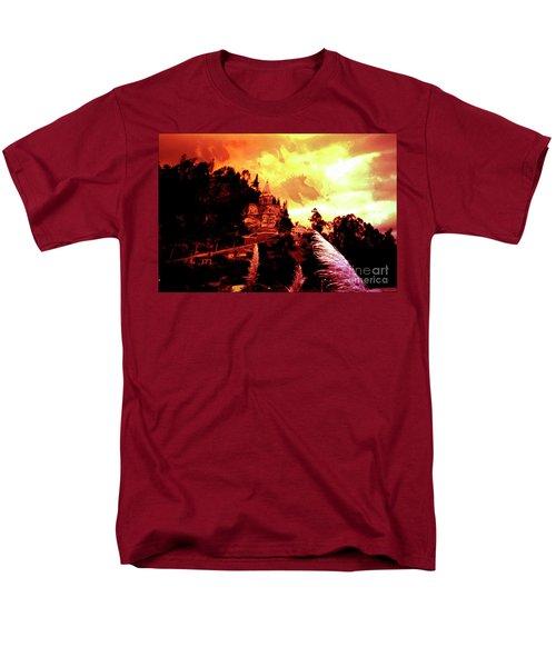 Men's T-Shirt  (Regular Fit) featuring the photograph Magnificent Church Of Biblian IIi by Al Bourassa