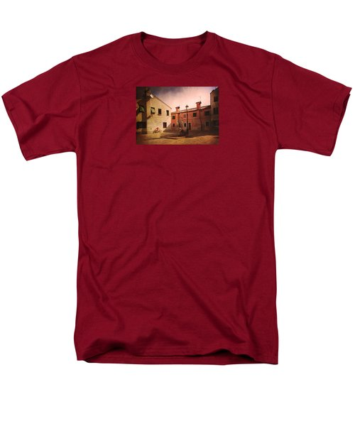 Men's T-Shirt  (Regular Fit) featuring the photograph Malamocco Corner No2 by Anne Kotan