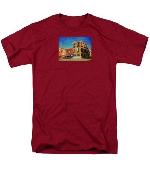 Men's T-Shirt  (Regular Fit) featuring the photograph Malamocco Corner No3 by Anne Kotan