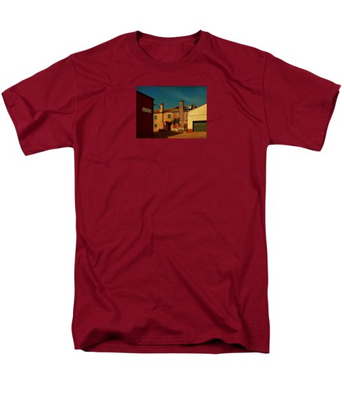 Men's T-Shirt  (Regular Fit) featuring the photograph Malamocco House No2 by Anne Kotan