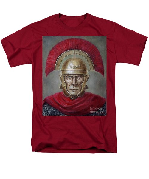 Marcus Cassius Scaeva Men's T-Shirt  (Regular Fit) by Arturas Slapsys