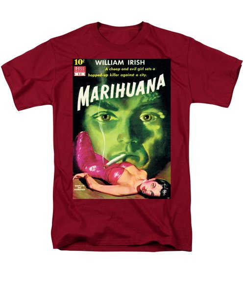 Men's T-Shirt  (Regular Fit) featuring the painting Marihuana by Bill Fleming
