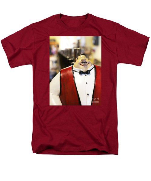 Men's T-Shirt  (Regular Fit) featuring the photograph May I Take Your Wine Order by Cheryl Del Toro