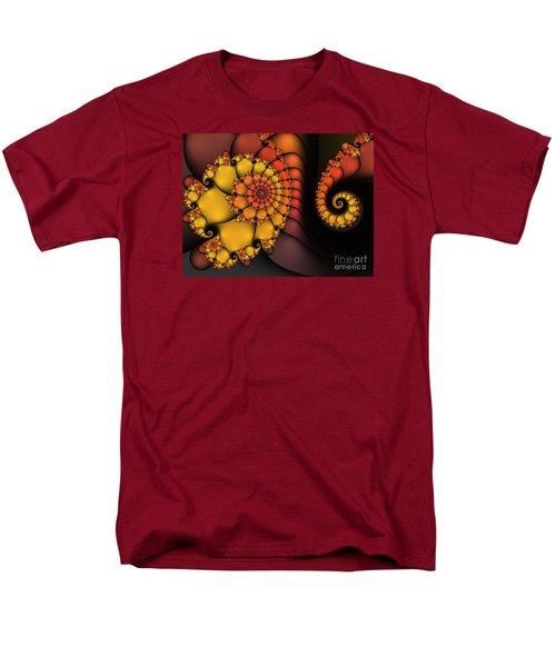 Men's T-Shirt  (Regular Fit) featuring the digital art Meeting by Karin Kuhlmann
