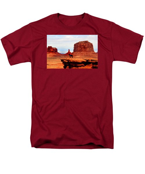 Monument Valley Men's T-Shirt  (Regular Fit) by Tom Prendergast
