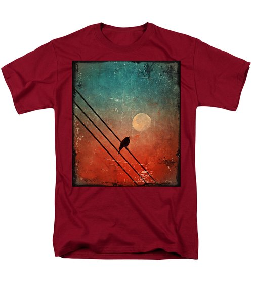 Moon Talk Men's T-Shirt  (Regular Fit) by Tara Turner
