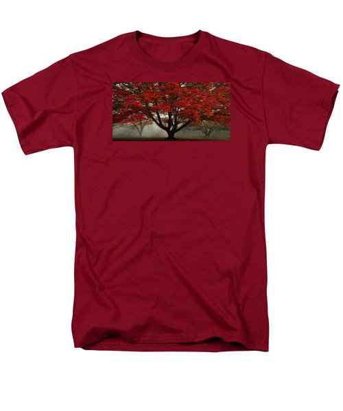 Men's T-Shirt  (Regular Fit) featuring the photograph Morning Rays In The Forest by Ken Smith