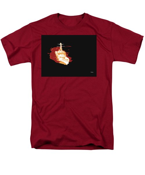 Men's T-Shirt  (Regular Fit) featuring the digital art Music Notes 11 by David Bridburg